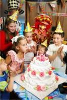 Детский день рождения на дому
